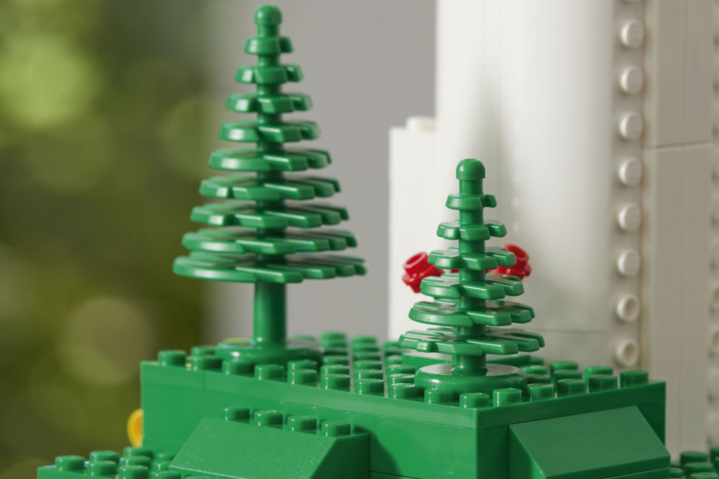 This year, LEGO announced it would begin creating building blocks using plant-based materials. Photo courtesy: LEGO