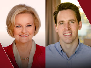 Sen. Claire McCaskill and Republican Attorney General Josh Hawley will face off Oct. 18 in a Missouri Senate debate hosted by the PBS NewsHour's Judy Woodruff.