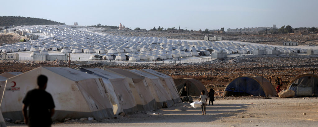 The United Nations warns that hundreds of thousands of Syrians will be forced to leave Idlib province if a Syrian government offensive begins. Photo by Khalil Ashawi/Reuters