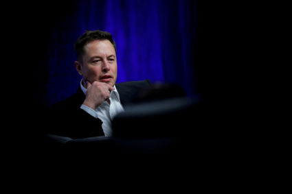 Tesla Motors CEO Elon Musk speaks during the National Governors Association Summer Meeting in Providence, Rhode Island, U.S., July 15, 2017. REUTERS/Brian
