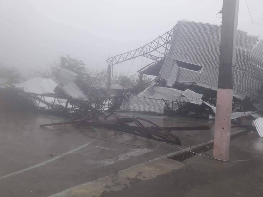 Photos Of Typhoon Mangkhut Show Damage It's Wreaking On Philippines, China
