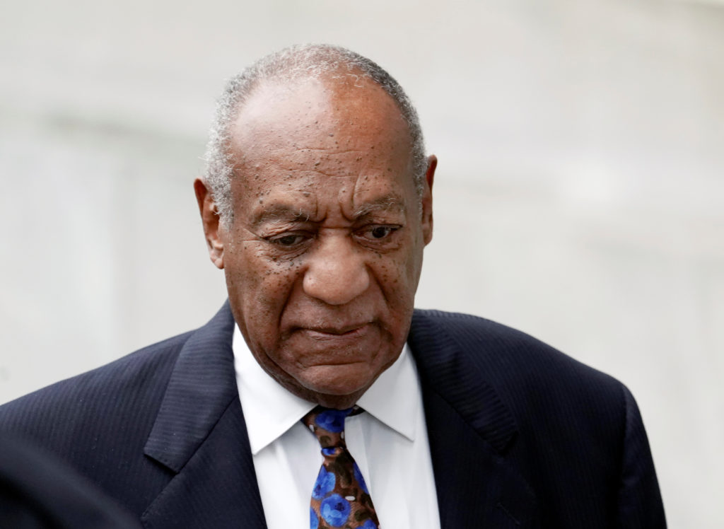 Actor and comedian Bill Cosby arrives at the Montgomery County Courthouse for sentencing in his sexual assault trial in No...