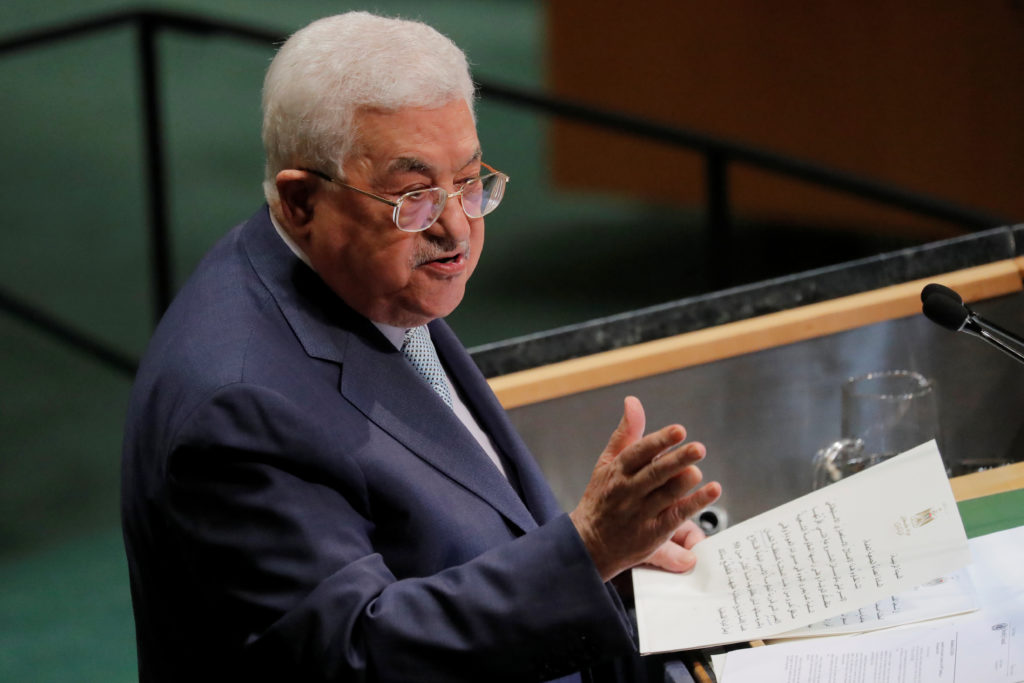 WATCH: Palestinian president issues ultimatum to Israel in UNGA address