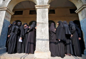 File photo of Muslim women in Ahmedabad, India, by Amit Dave/Reuters