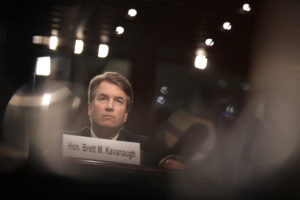 Supreme Court nominee Judge Brett Kavanaugh appears before the Senate Judiciary Committee during his Supreme Court confirmation hearing in the Hart Senate Office Building on Capitol Hill in Washington, D.C. Photo by Drew Angerer/Getty Images
