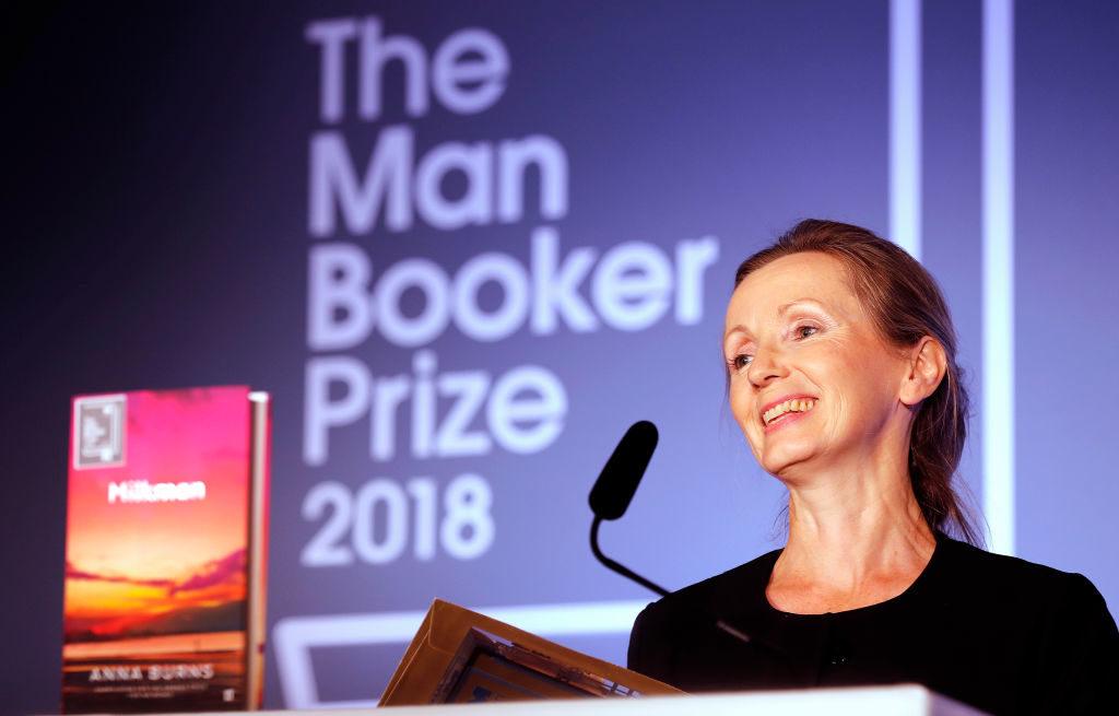 Man Booker Prize awarded to 'Milkman' author Anna Burns