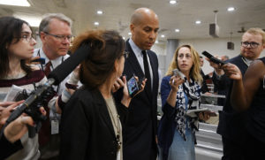 File photo of Sen. Cory Booker, D-N.J., by Mary F. Calvert/Reuters