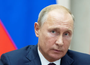 File photo of Russian President Vladimir Putin by Pavel Golovkin/Reuters