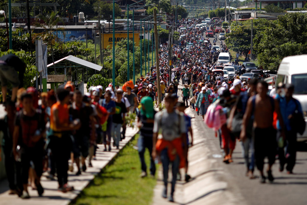 What we know about the latest migrant caravan traveling through Mexico |  PBS NewsHour