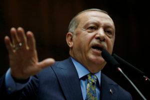 File photo of Turkish President Recep Tayyip Erdogan by Tumay Berkin/Reuters
