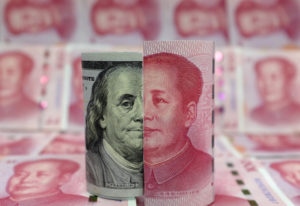 China could devalue its currency, which would make its exports cheaper and partially offset the U.S. tariffs that make them more expensive. Photo by Jason Lee/Reuters