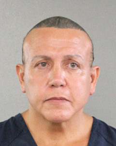 Cesar Altieri Sayoc is pictured in Ft. Lauderdale, Florida, in this August 2015 handout booking photo obtained by Reuters. Photo by Broward County Sheriff's Office via Reuters