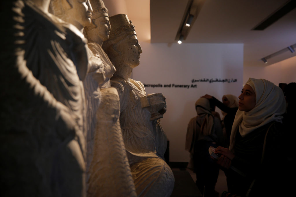 Shut for over 6 years, Syria's national museum reopens
