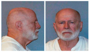 "Former mob boss and fugitive James ""Whitey"" Bulger is seen in a combination of booking mug photos released to Reuters on August 1, 2011. Photo by U.S. Marshals Service/U.S. Department of Justice via Reuters"