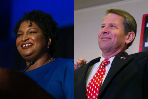 In one of the most closely-watched contests for governor in the 2018 midterms, Democrat Stacy Abrams will debate Brian Kemp tonight in Georgia.