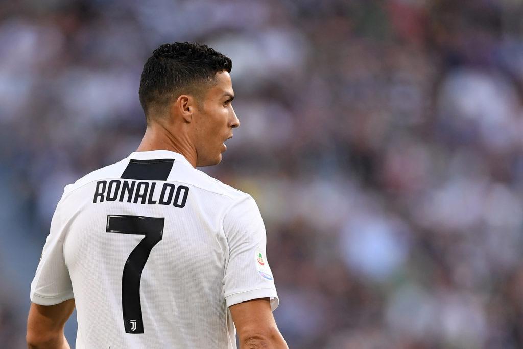 FILE PHOTO: Juventus' Cristiano Ronaldo at Allianz Stadium, Turin, Italy - September 29, 2018. REUTERS/Alberto Lingria/File Photo