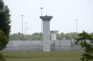 A watch tower stands among the buildings of the Coleman Federal Correctional Complex in Coleman, Florida, July 20, 2010. Photo by REUTERS/Phelan M. Ebenhack