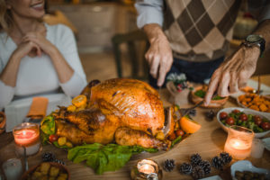 Be cautious when preparing and consuming turkey this Thanksgiving amid ongoing salmonella outbreak. Photo by Getty Images.