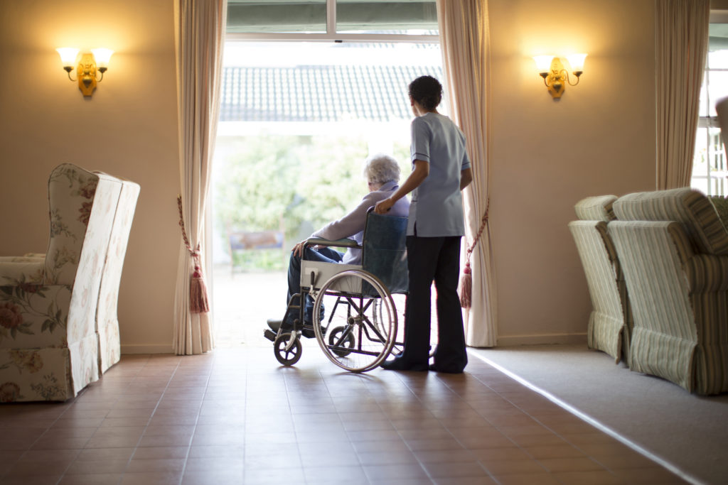Maine might fund senior home care  How do most Americans pay