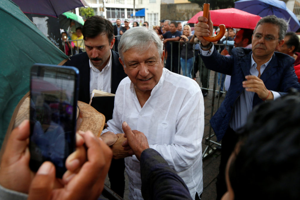 Mexico's incoming President Andres Manuel Lopez Obrador has promised reforms to strengthen the nation's labor unions. Fernando Carranza/Reuters