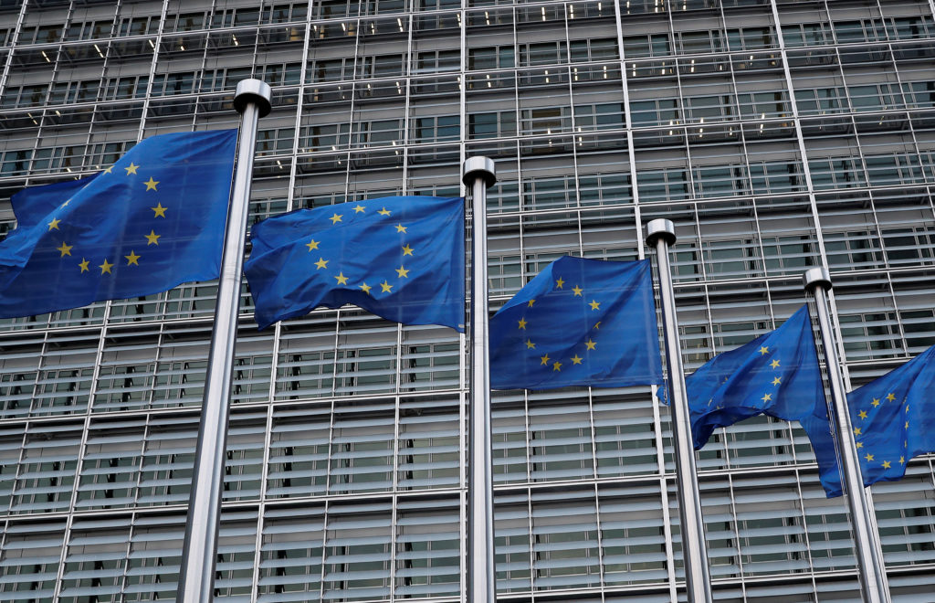 File photo of the EU Commission headquarters in Brussels, Belgium, by Yves Herman/Reuters