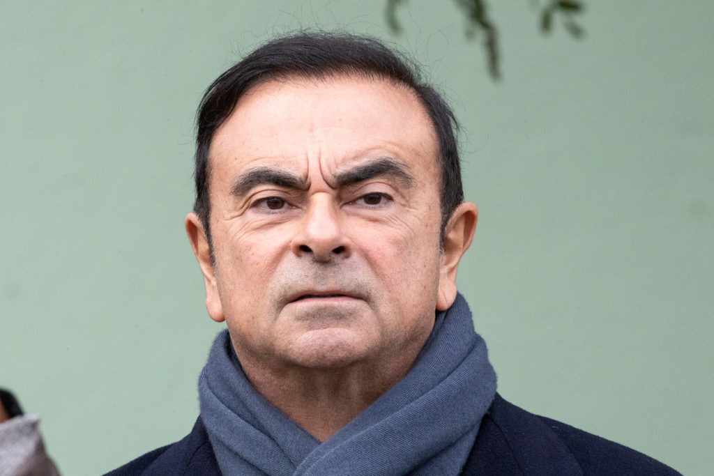 File photo of Renault and Nissan CEO Carlos Ghosn by Etienne Laurent/Pool via Reuters