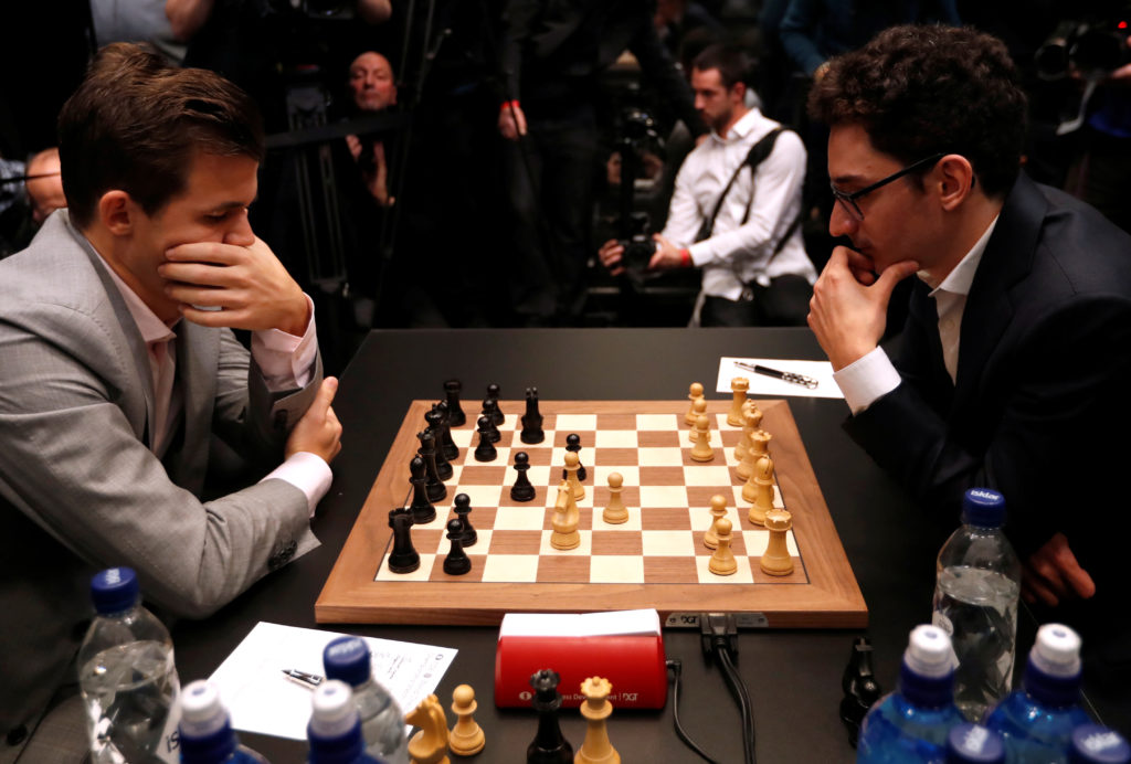 World's best chess players were deadlocked in a match for 3
