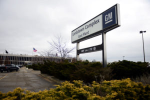 A view of the East Plant entrance of the General Motors Lordstown Complex, an assembly plant in Warren, Ohio, that is slated for closure under GM's restructuring plan. Photo by Alan Freed/Reuters