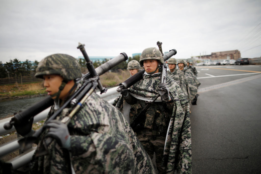 U.S. and South Korea reduce scope of springtime military exercise