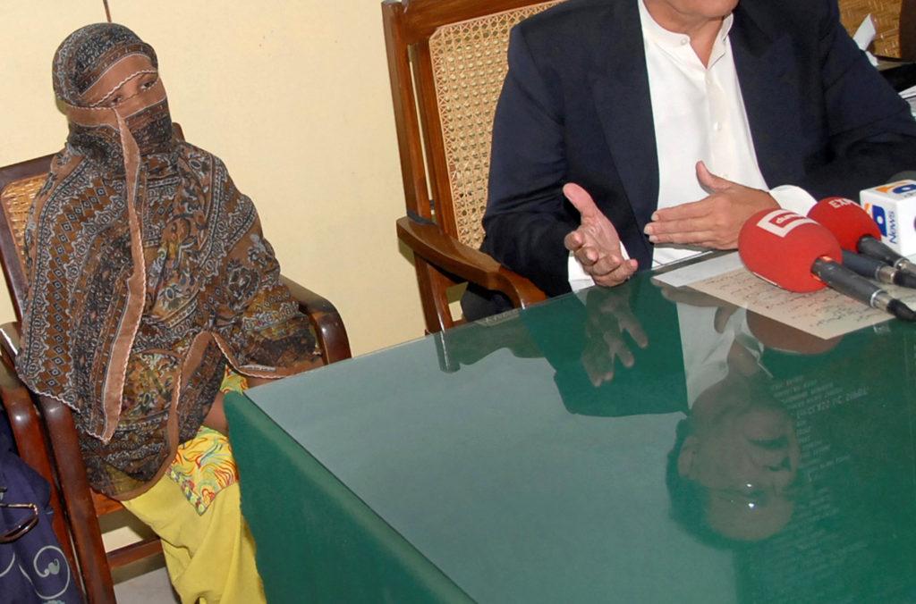 Asia Bibi, a Pakistani Christian woman who was sentenced to death f…