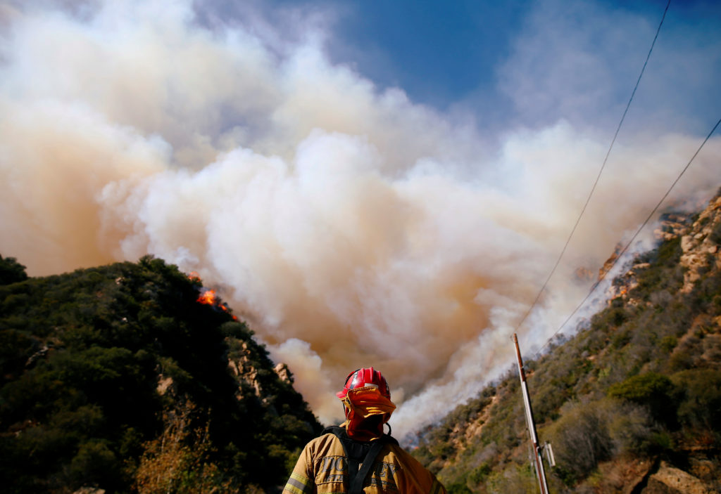 Why 'mega wildfires' are happening in November