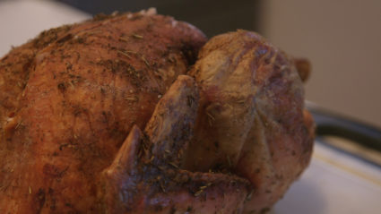 Making a delectable roasted Thanksgiving turkey is easy with some help from basic chemistry. Image by Deema Zein.