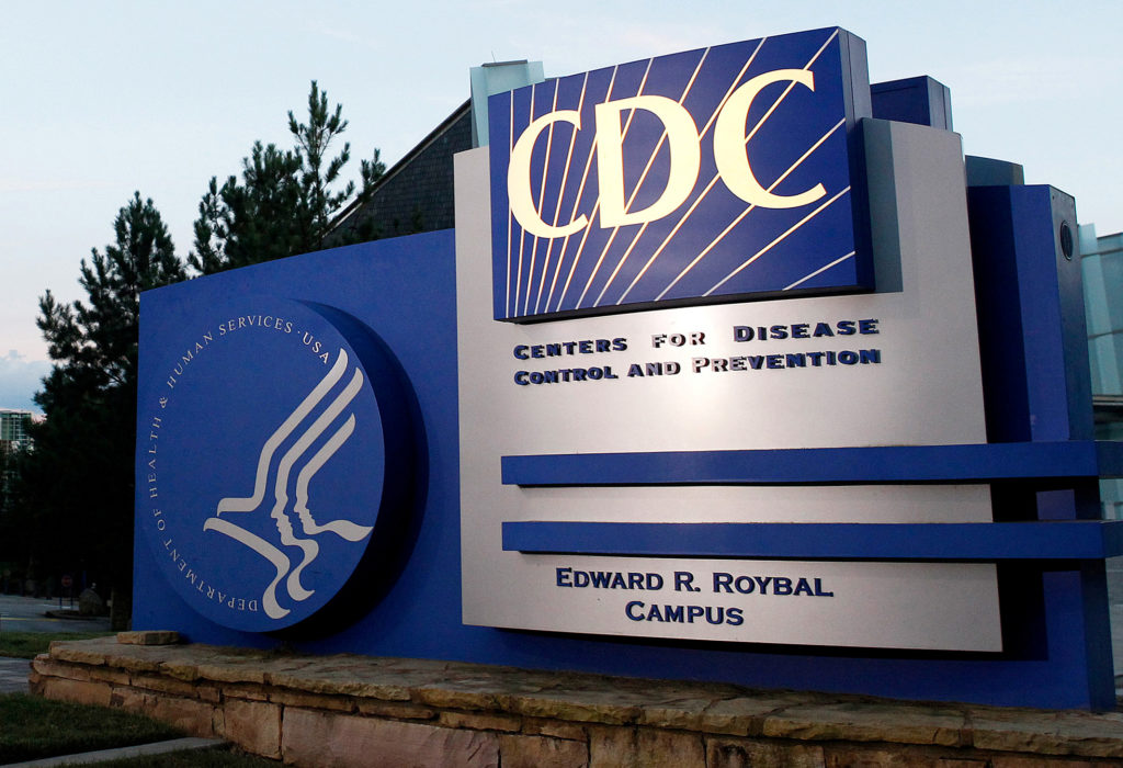 A general view of the Centers for Disease Control and Prevention (CDC) headquarters in Atlanta, Georgia on Sept. 30, 2014....