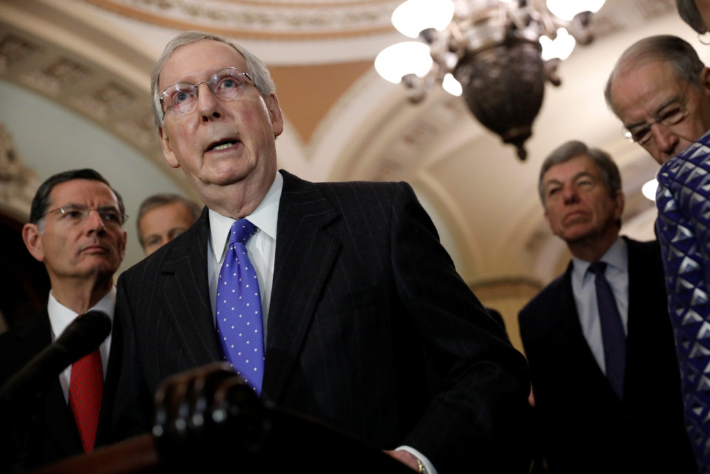 Trump's national emergency sparks GOP divide