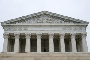 The U.S. Supreme Court is seen in Washington, D.C. Photo by Erin Schaff/Reuters
