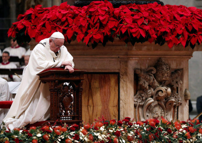 Pope Francis Leads Christmas Eve Mass At Vatican Pbs Newshour