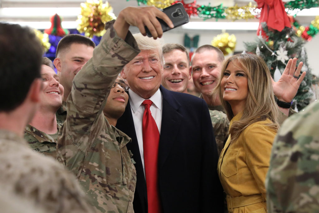 Visiting troops in Iraq, Trump defends Syria withdrawal | PBS NewsHour
