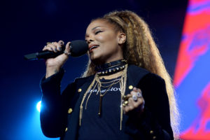 Janet Jackson on stage during the MTV EMAs 2018 at the Bilbao Exhibition Centre (BEC) on November 04, 2018 in Bilbao, Spain. Photo by Dave Hogan/MTV 2018/Dave J Hogan/Getty Images for MTV