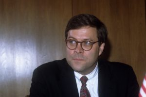 William Barr served as the attorney general in the George H.W. Bush administration from 1991 to 1993. Photo by Gisbert Paech/Getty Images