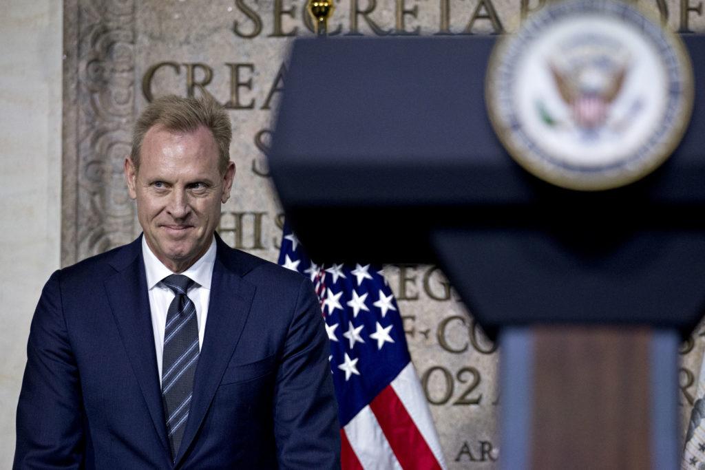 Patrick Shanahan, deputy secretary of defense, arrives to a Nationa…