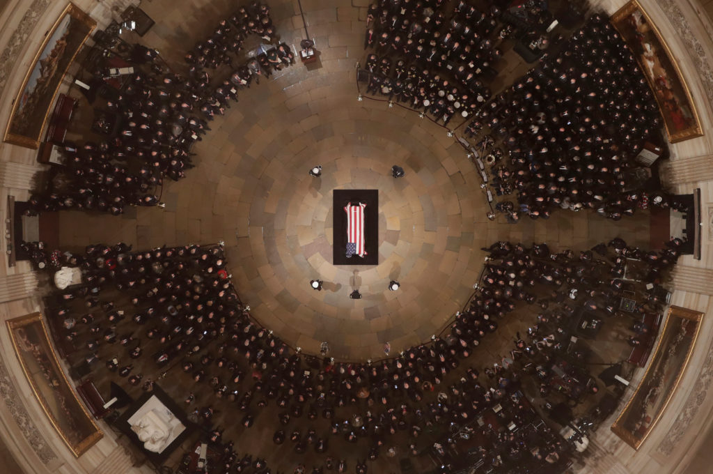 A Full Schedule Of George H W Bush S Memorial Events Funeral Pbs