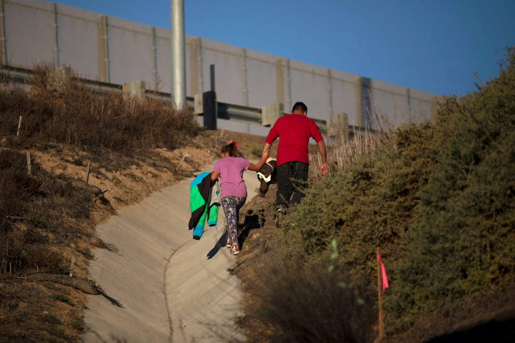 Image result for Toddler asked to pick parent in attempted family separation at US border!