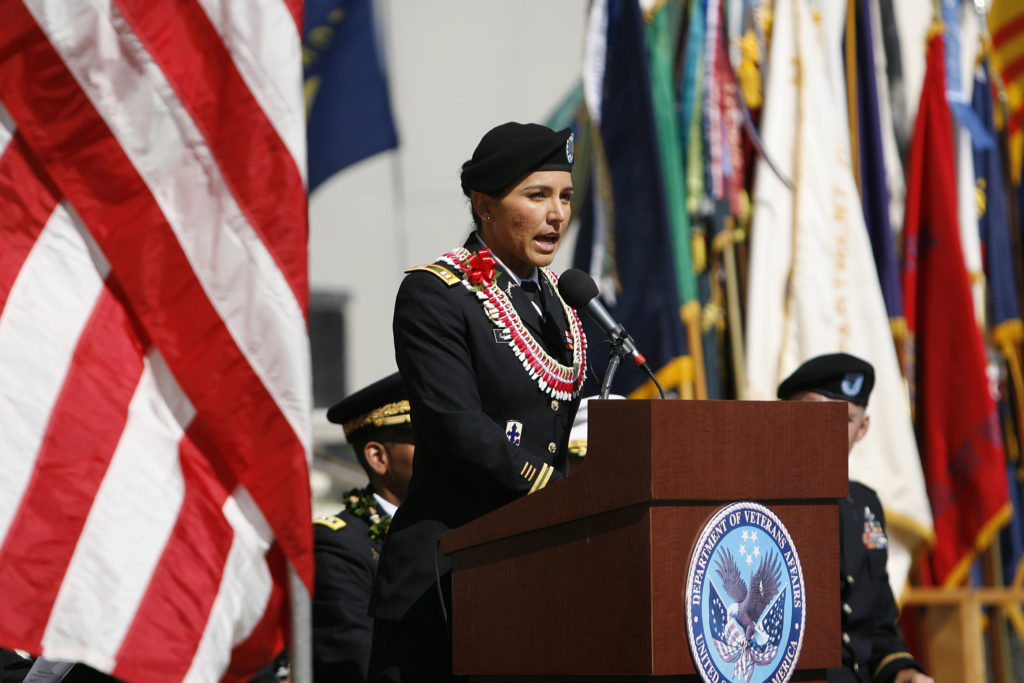 Military women, female veterans are shifting away from GOP
