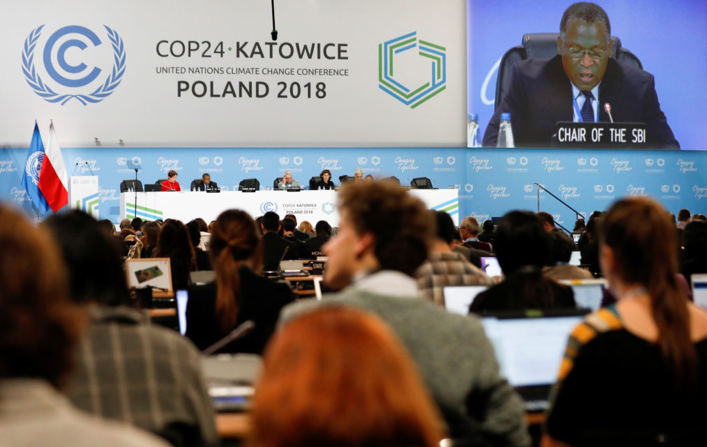 Participants take part in plenary session during COP24 UN Climate Change Conference 2018 in Katowice, Poland. Photo by Kacper Pempel/Reuters