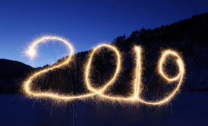 "The numbers ""2019"" are written in the air with a sparkler near a tourist camp outside Krasnoyarsk, Russia. Ilya Naymushin/Reuters"