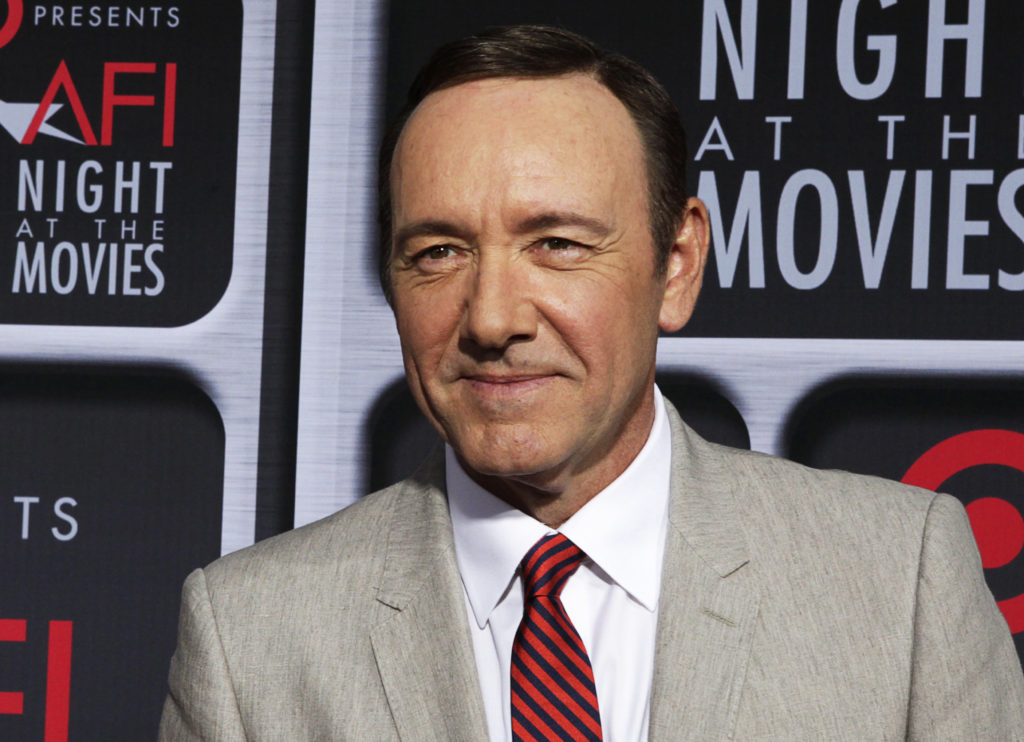 Actor Kevin Spacey poses at a film event in Hollywood on April 24, 2013. Photo by Fred Prouser/Reuters
