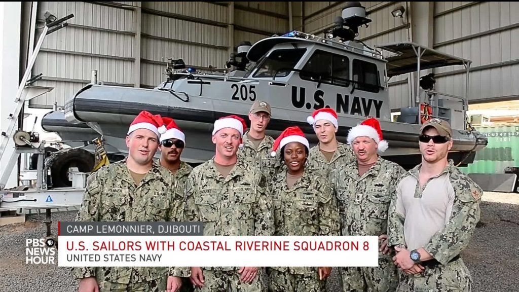 Image result for photos of christmas around world with US troops
