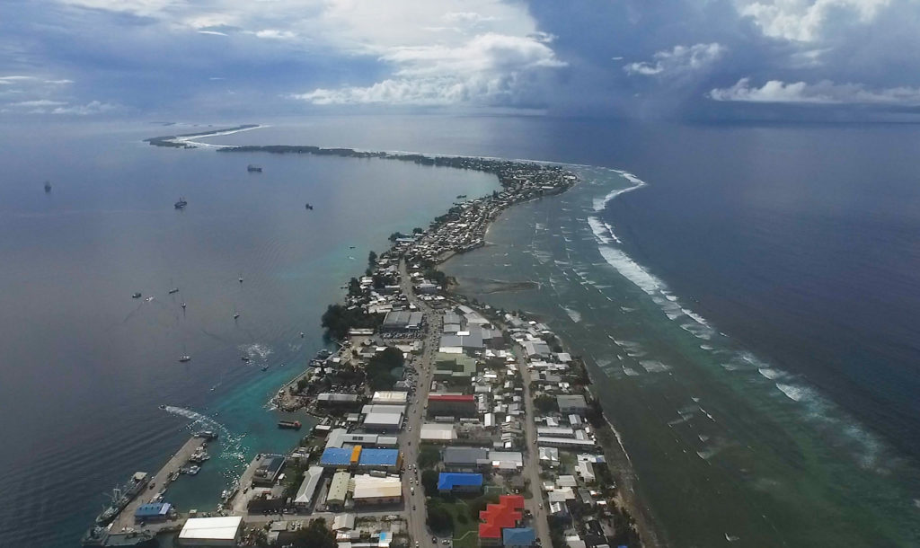 Marshall Islands: A third of the nation has left for the US