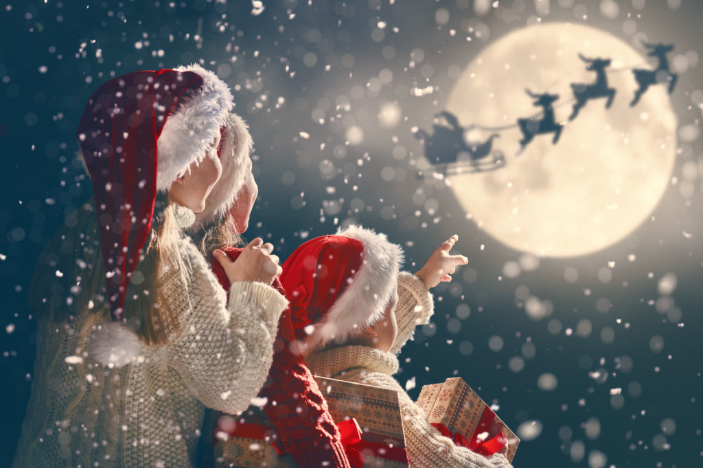 Don't fret if your kids are starting to doubt Santa's magic. Coming to disbelieve is not particularly distressing for them and most come to their own conclusions. Image by Konstantin Yuganov/Adobe Stock