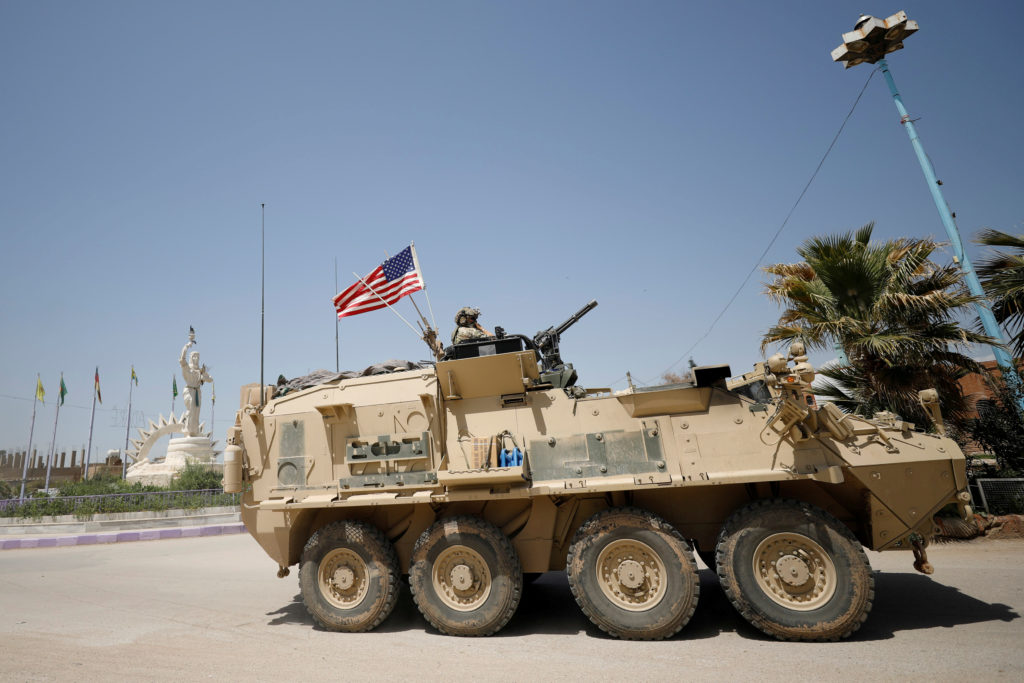 U.S. official says withdrawal from Syria has begun